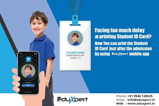 School ID card design | EduXpert ID Card design software