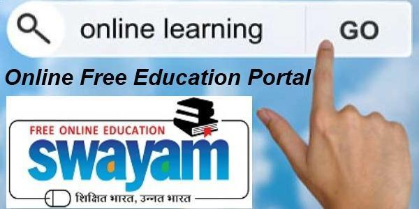 Swayam | free online learning platform by Government of India
